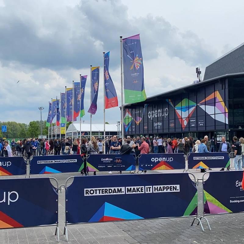 Rotterdam Eurovisie Songfestival veiligheid